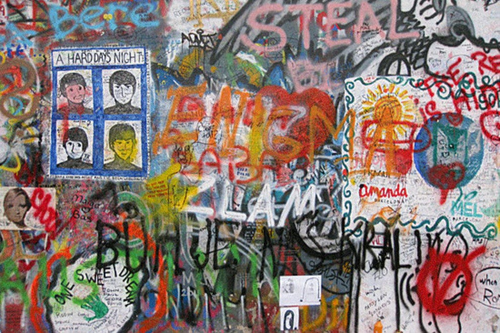 John Lennon Wall: Prague Attractions Review - 10Best Experts and ...