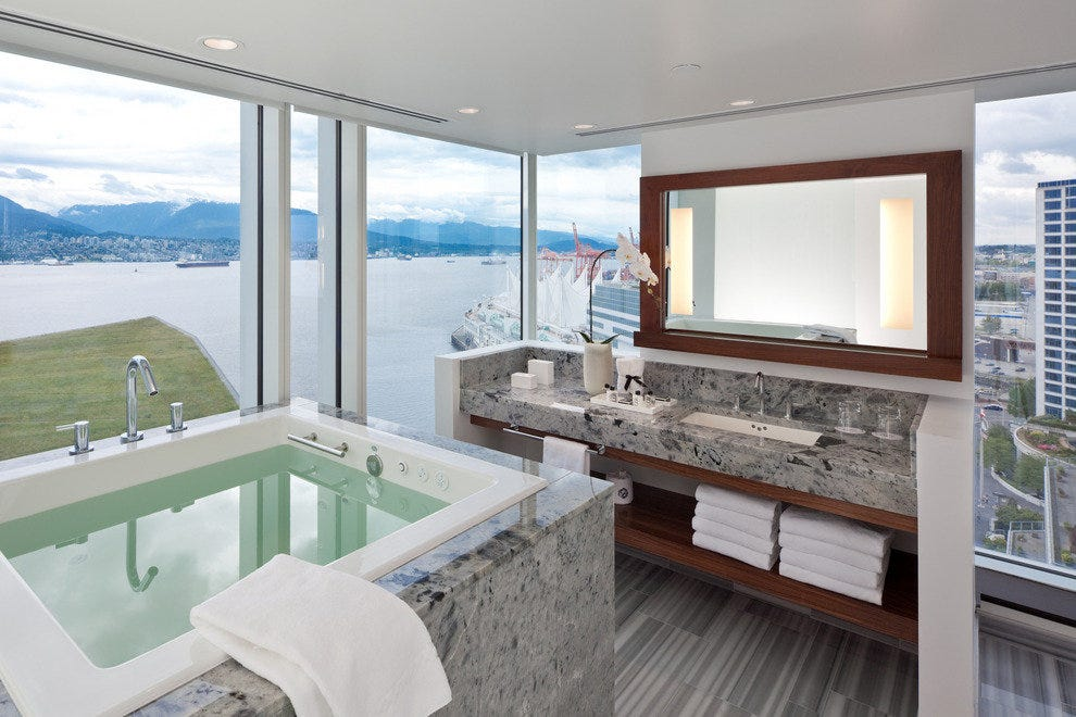 The Fairmont Pacific Rim in Vancouver, BC