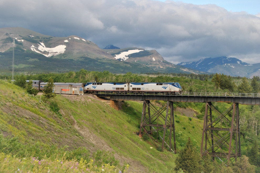 Empire Builder in Montana
