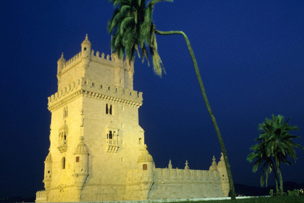The unusual Torre de Belem
