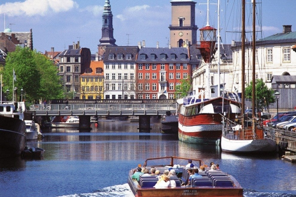A canal tour adds a whole new perspective to Copenhagen sightseeing.