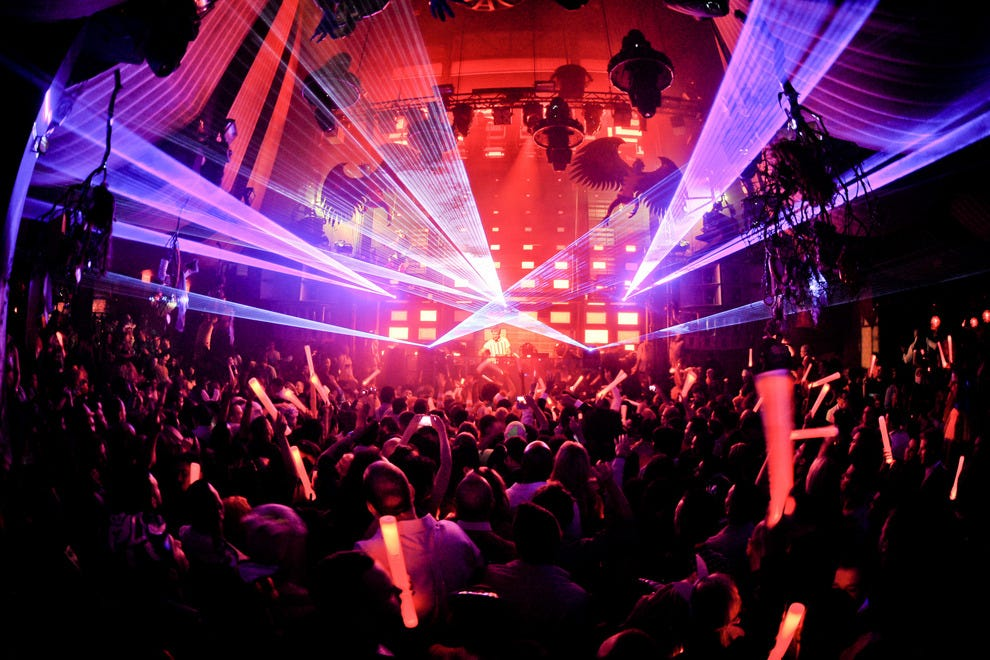 Las Vegas Night Clubs, Dance Clubs: 10Best Reviews