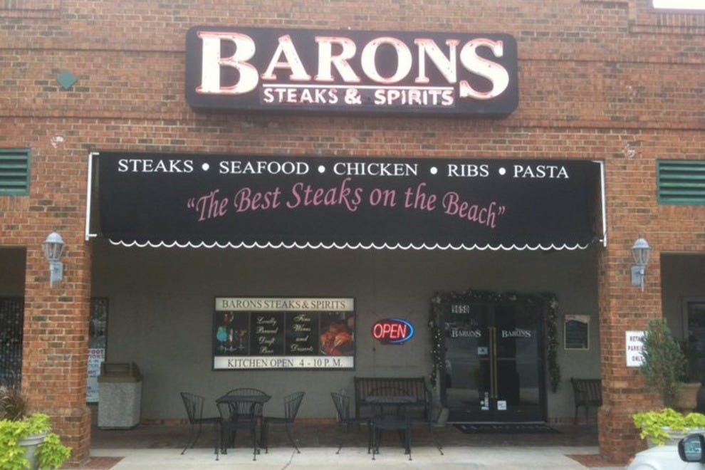 Barons Steakhouse Myrtle Beach