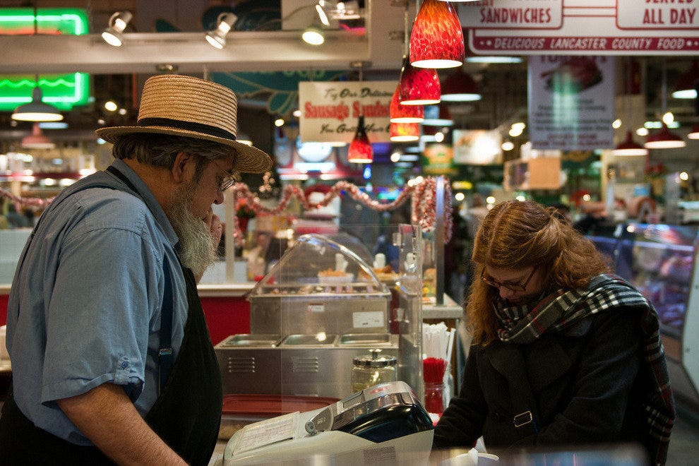 The Reading Terminal Market Philadelphia Attractions Review