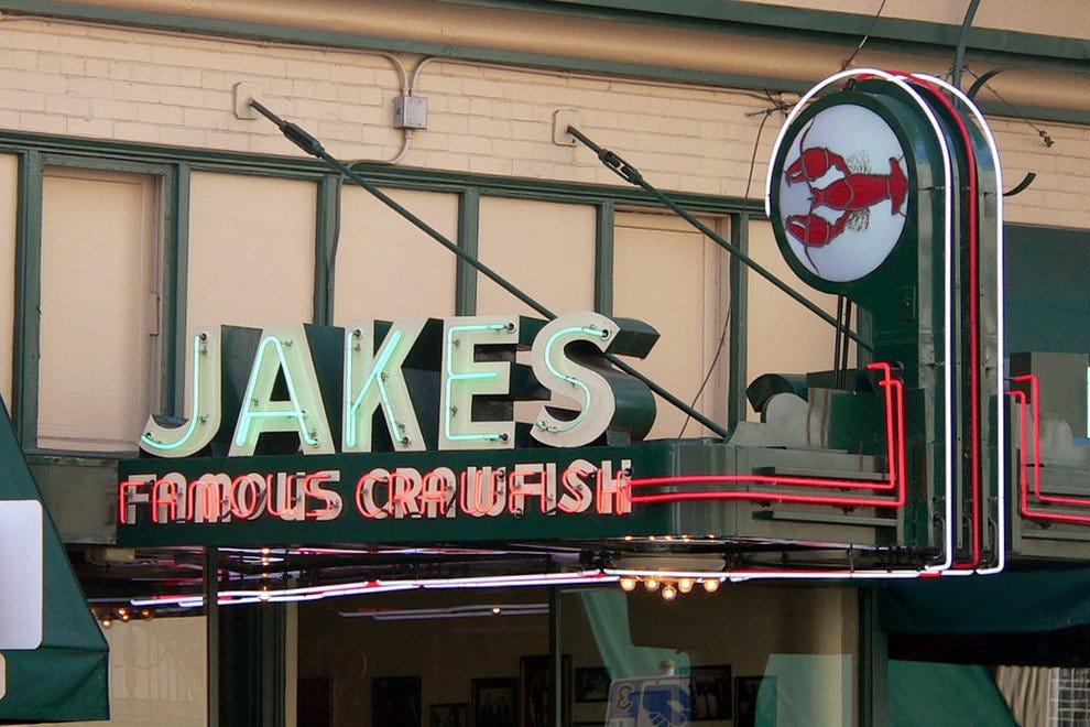 杰克的著名小龙虾