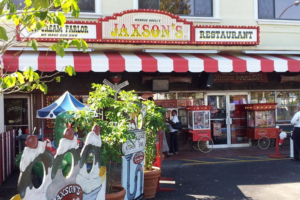 Jaxson S Ice Cream Parlor Restaurant