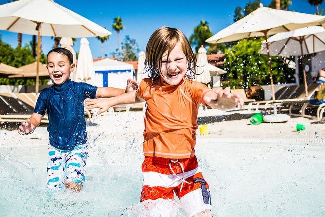 10 Hotel Pools Families Love: Features Photo Gallery By
