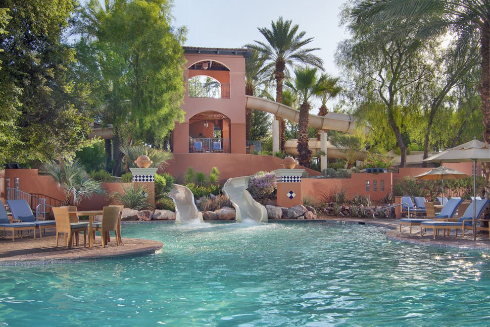 10 hotel pools families love features photo gallery by for Best hotel swimming pools for kids