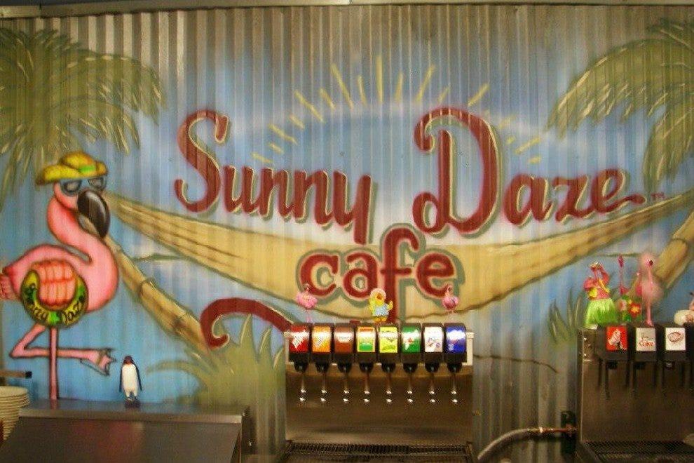 阳光明媚的迷乱咖啡馆