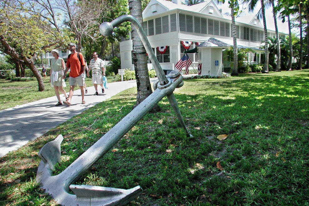 The Little White House is Florida's only presidential home site
