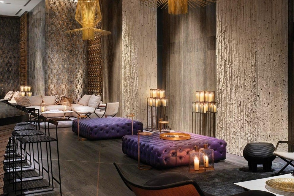 Living Room at W South Beach Hotel & Residences