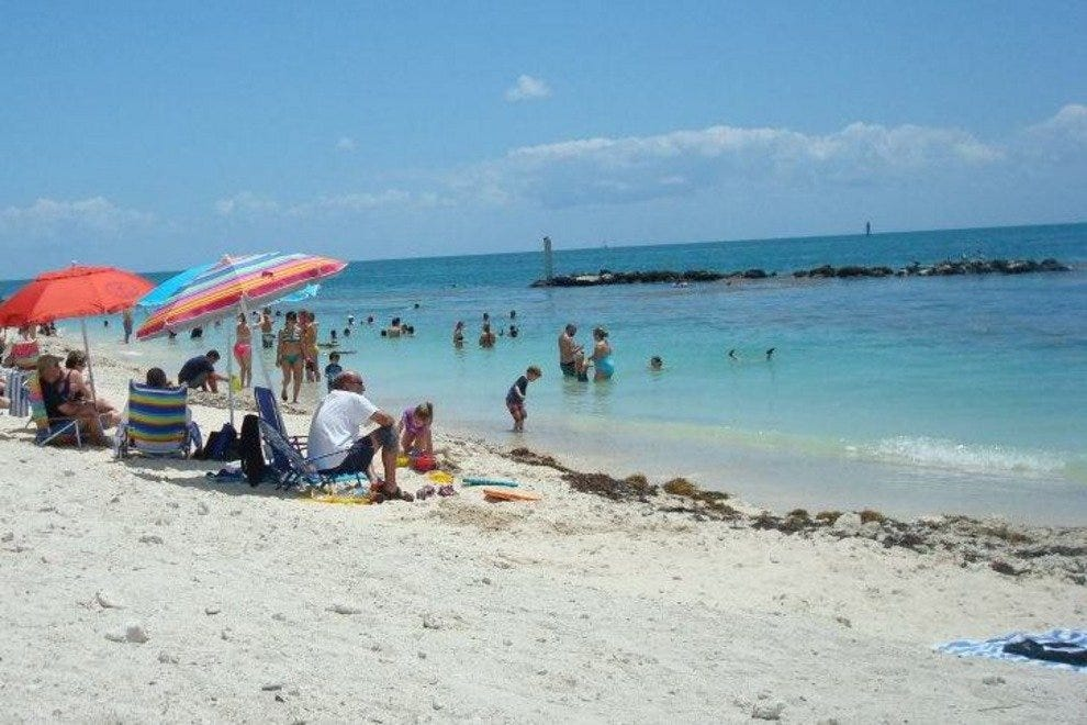 Beach at Fort Zachary Taylor State Park