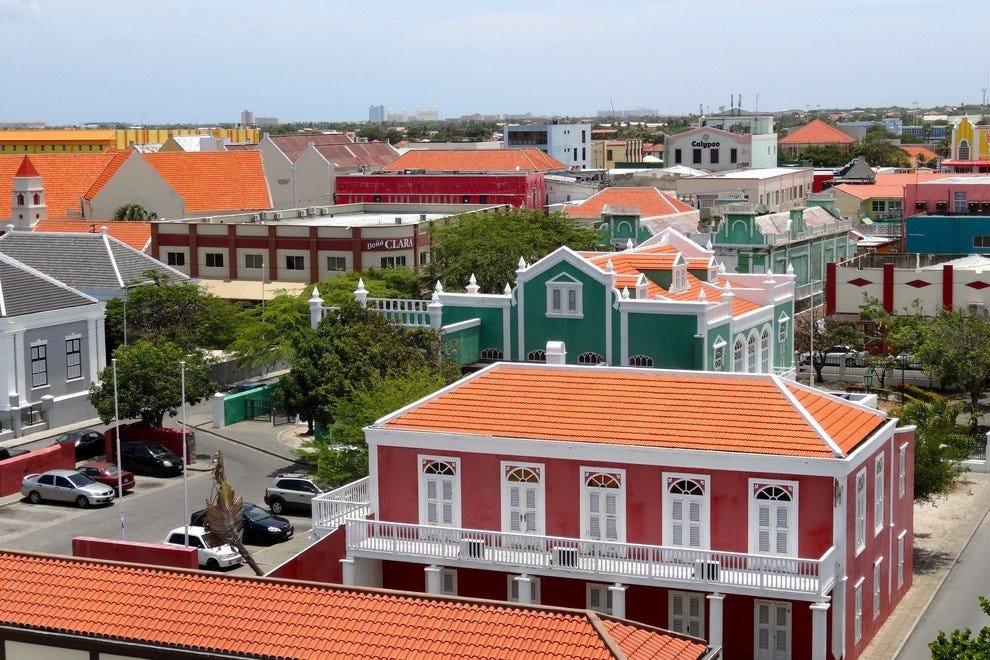 市中心Oranjestad
