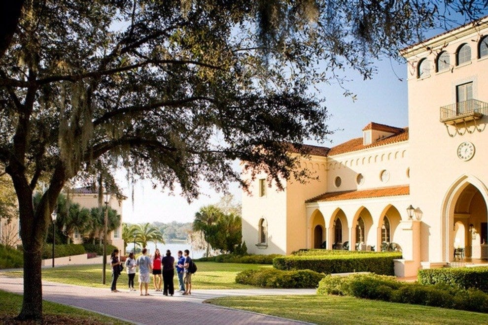 Rollins College has been a fixture in Winter Park since 1885