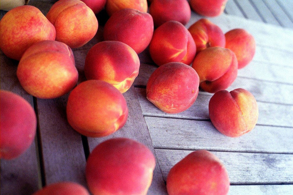 Carolina peaches