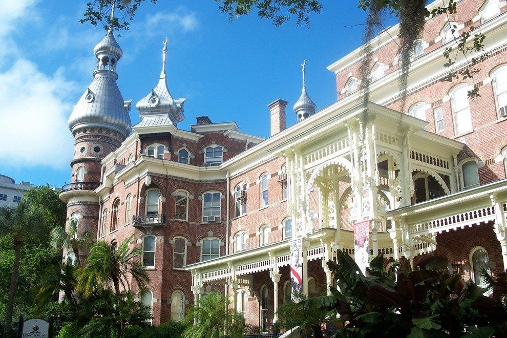 Romance awaits you as you tour the former Tampa Bay Hotel