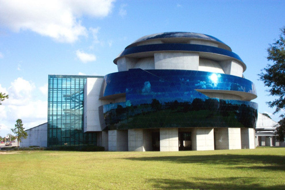 MOSI's futuristic IMAX dome is a familiar Tampa landmark