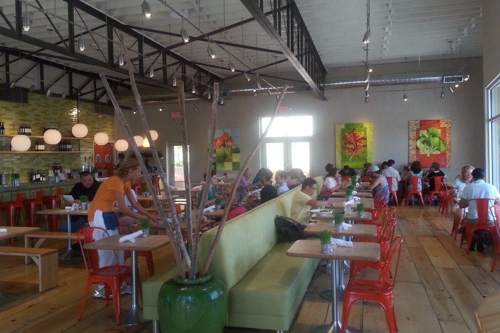 Vinaigrette's fresh and fun interior