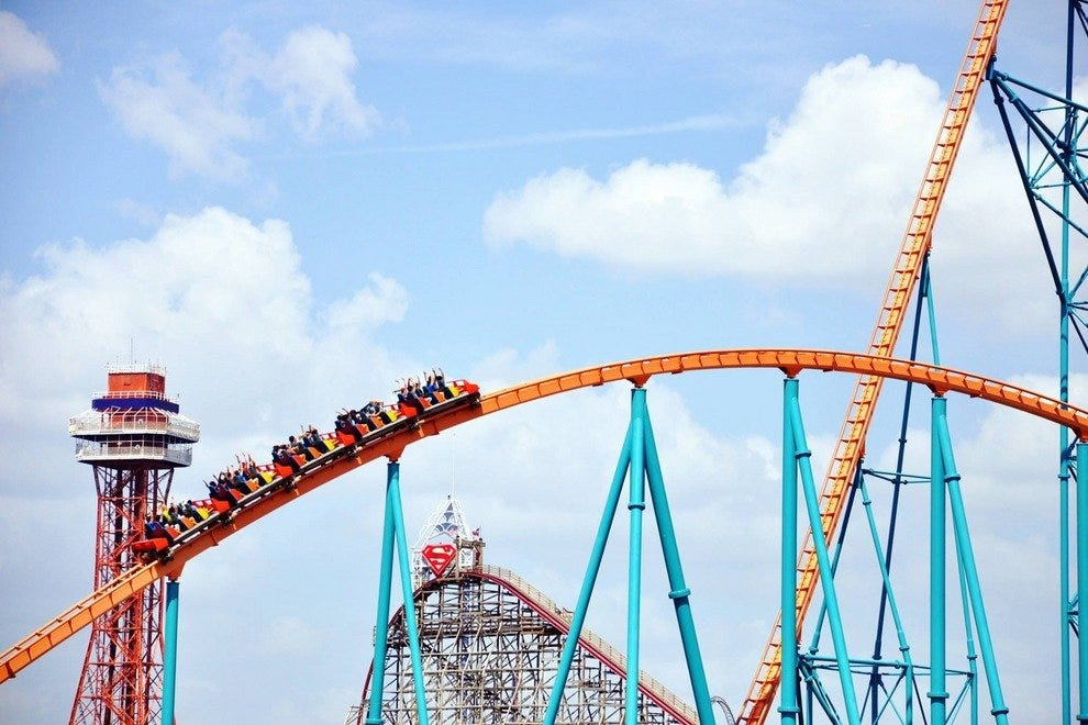 Six Flags Over Texas Dallas Attractions Review 10best