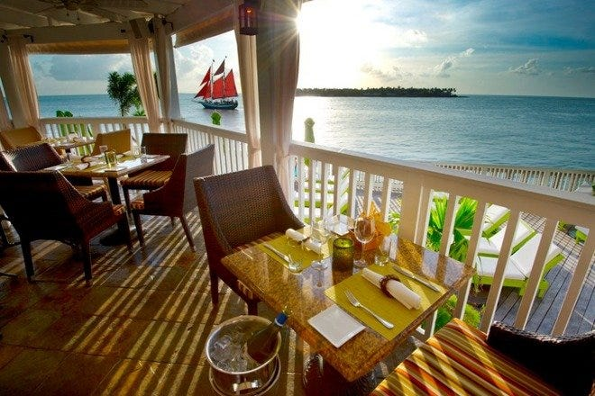 Outdoor Dining in Key West