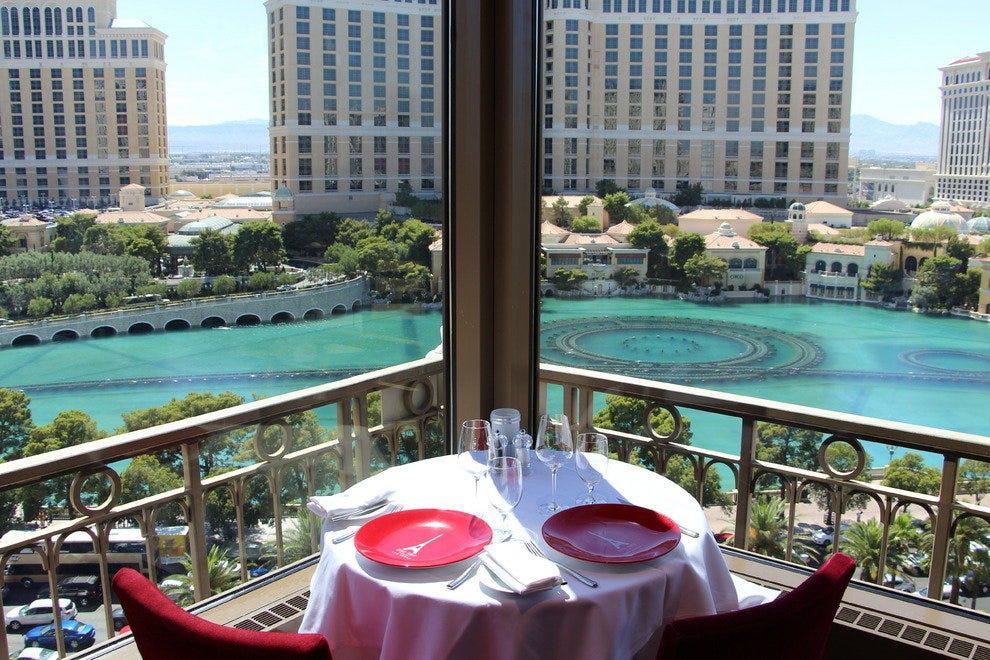 Paris Hotel Las Vegas Restaurants Eiffel Tower Menu