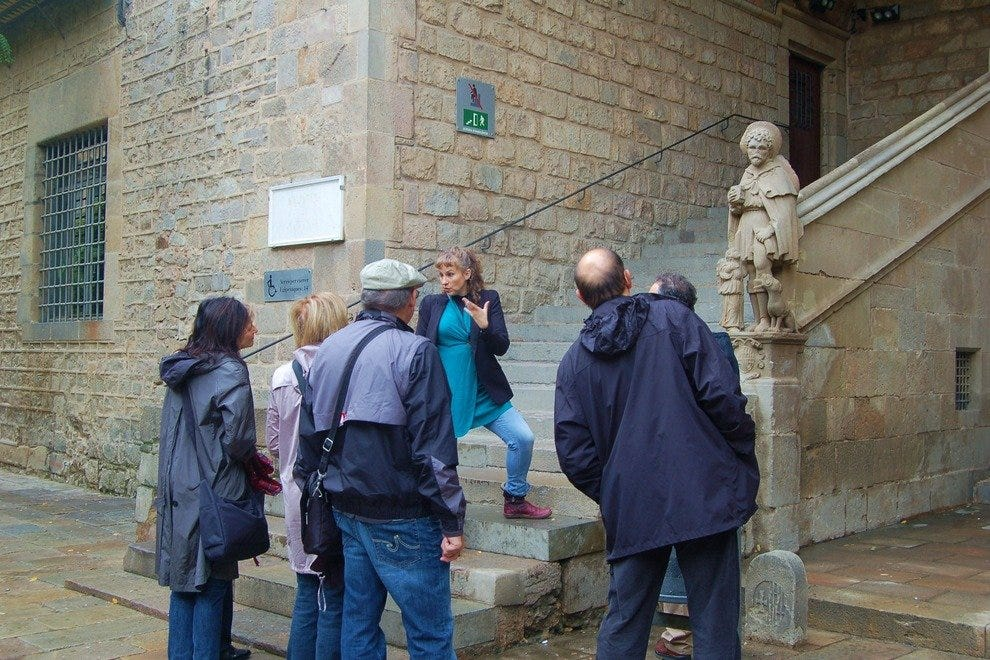 Walking tour in Barcelona