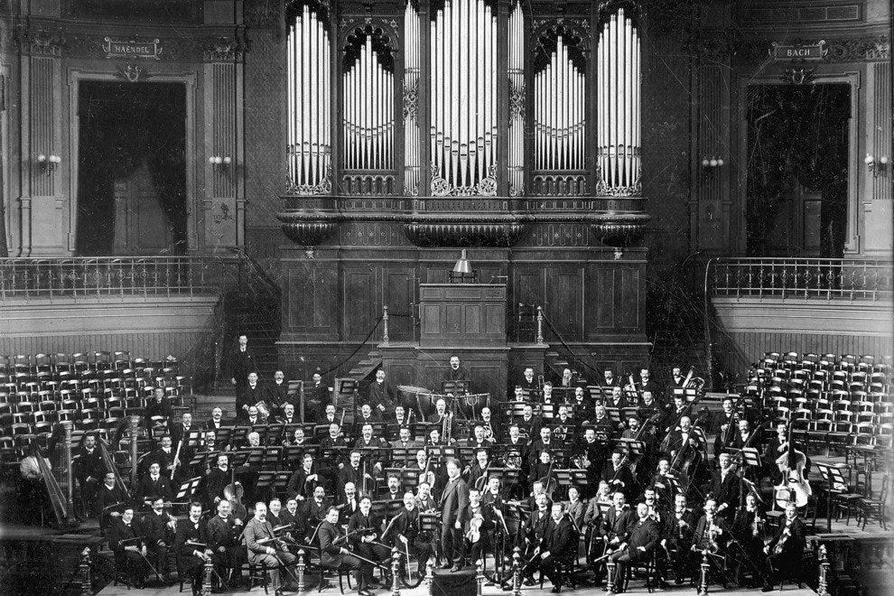 Royal Concertgebouw Orchestra and Mengelberg, 1907