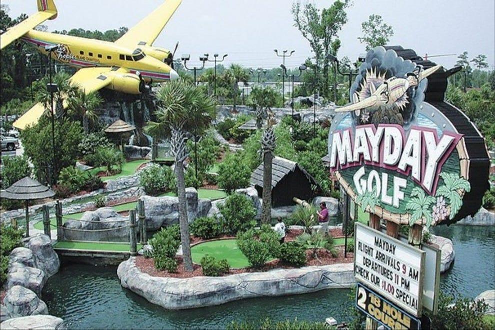 Best Miniature Golf Courses In Myrtle Beach Sc