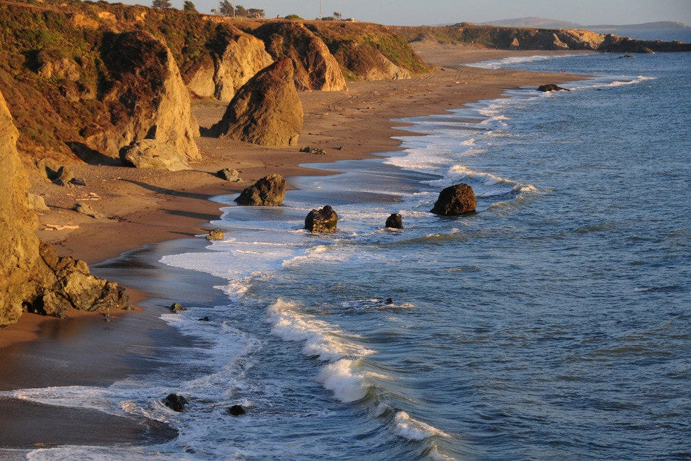 70 Miles of Pristine Coastline Await the Visitor to Sonoma County