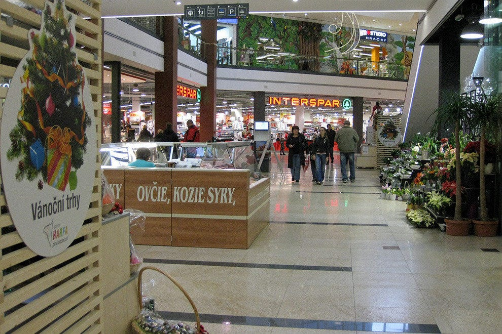 Prague offers a variety of shopping atmospheres
