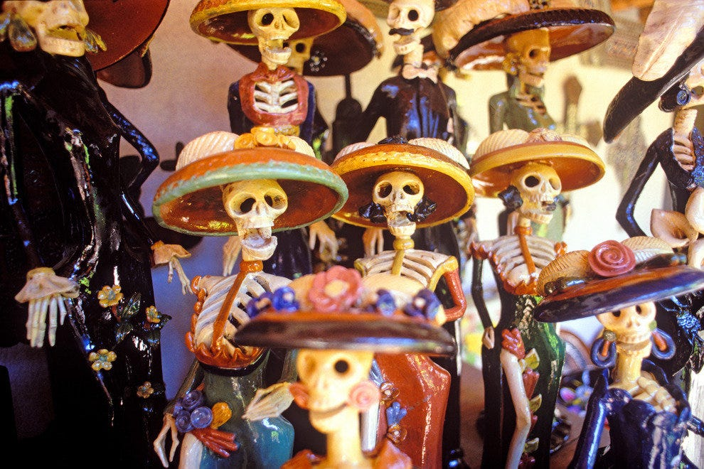 Day of the Dead folk art