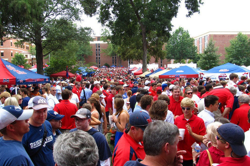 Tailgating in the Grove