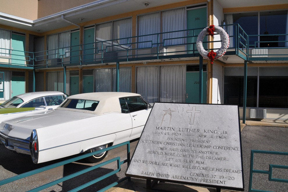 The Lorraine Motel, home of the National Civil Rights Museum