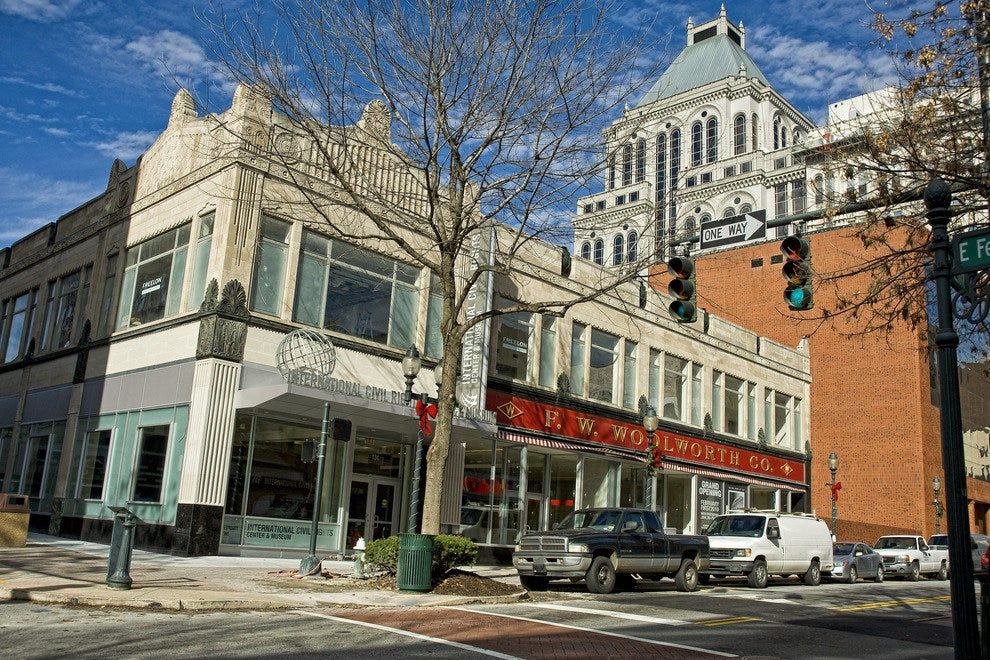 FW Woolworth Building in Greensboro