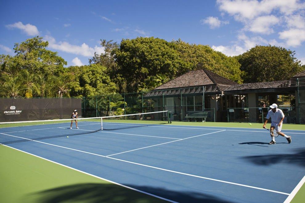 Caneel Bay tennis court