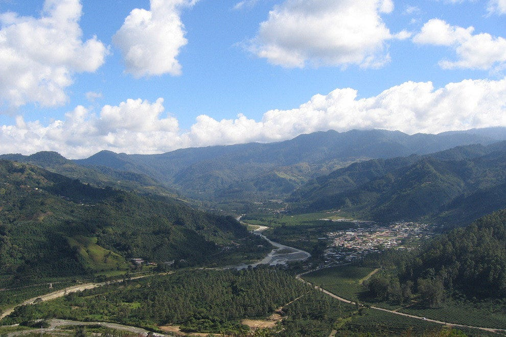 View of the Orosi Valley