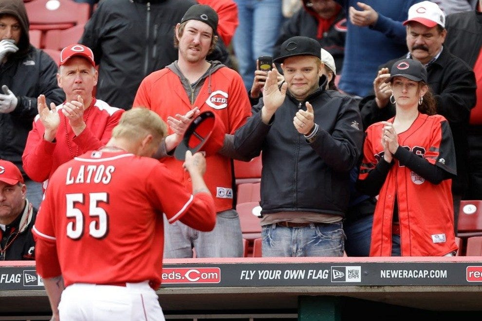 Reds fans love the game and show respect for a good performance
