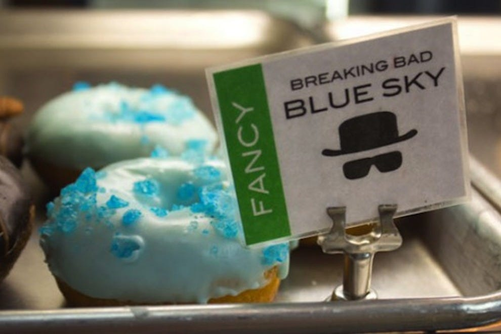 Blue Sky donut from Rebel Donut in Albuquerque
