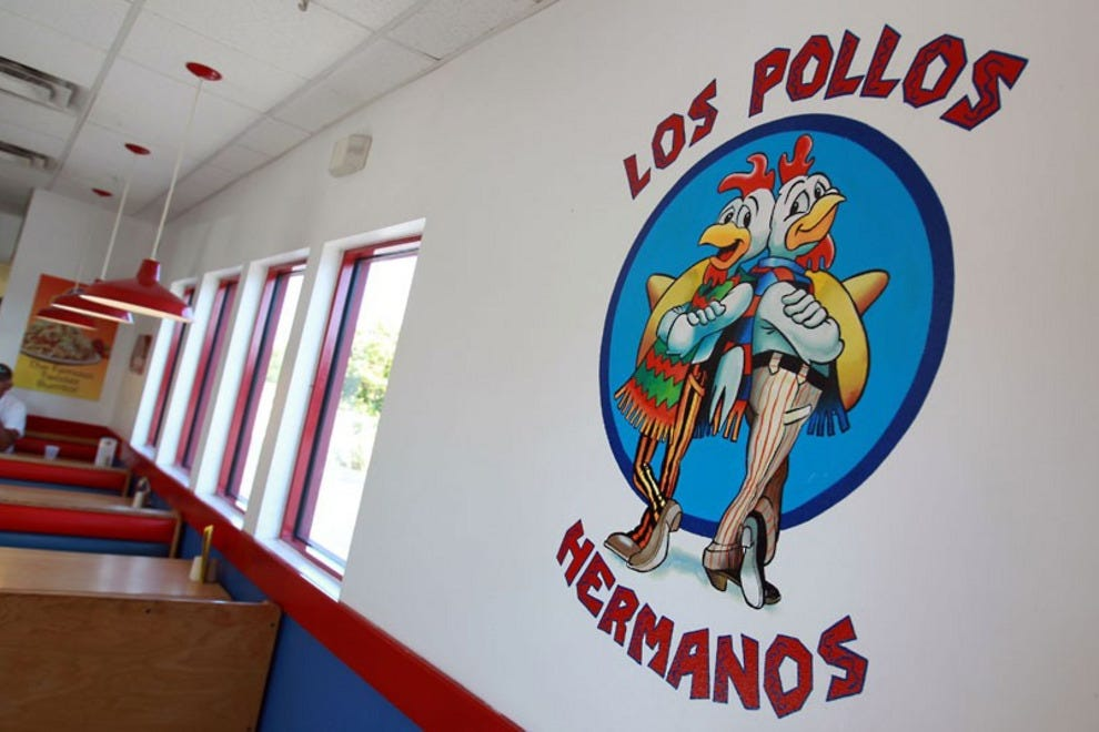 Twisters in the South Valley, the filming location for Los Pollos Hermanos