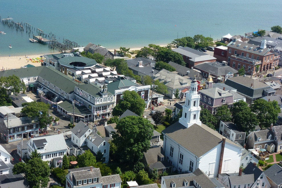 Provincetown from Pilgrim Monument