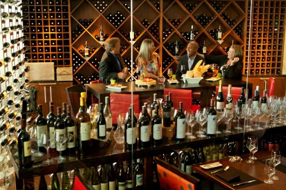 The Wine Room at Spencer's for Steaks & Chops