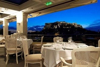 Electra Palace Hotel Restaurant: New Menu, Great View of Athens