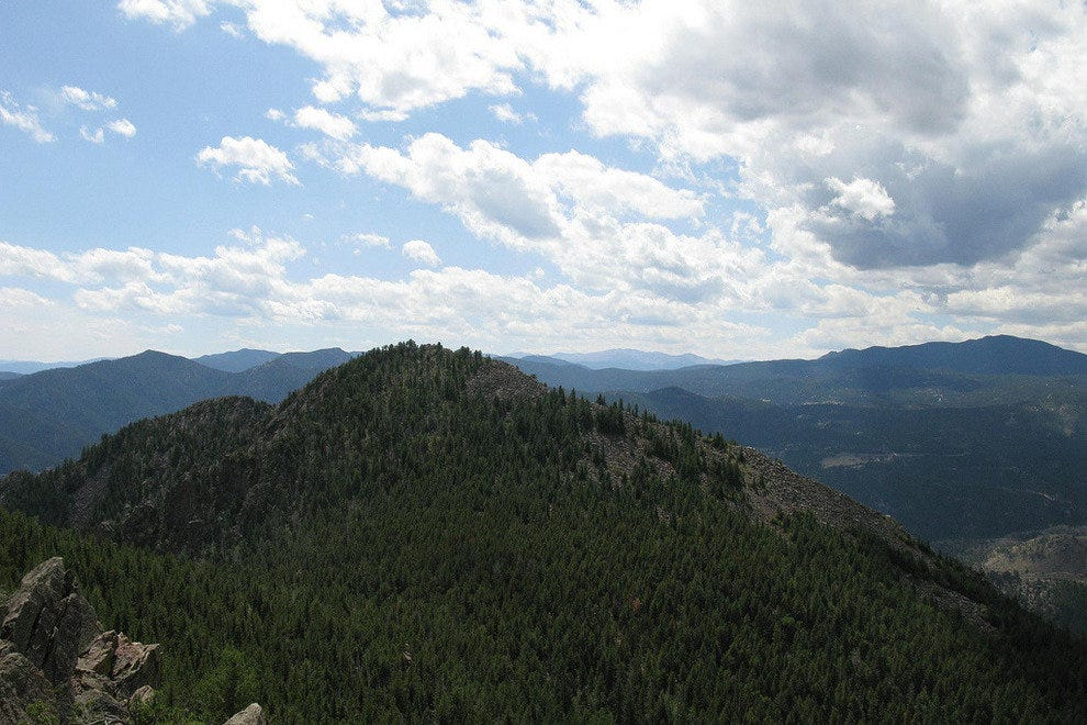 Bear Peak in Boulder,Colorado
