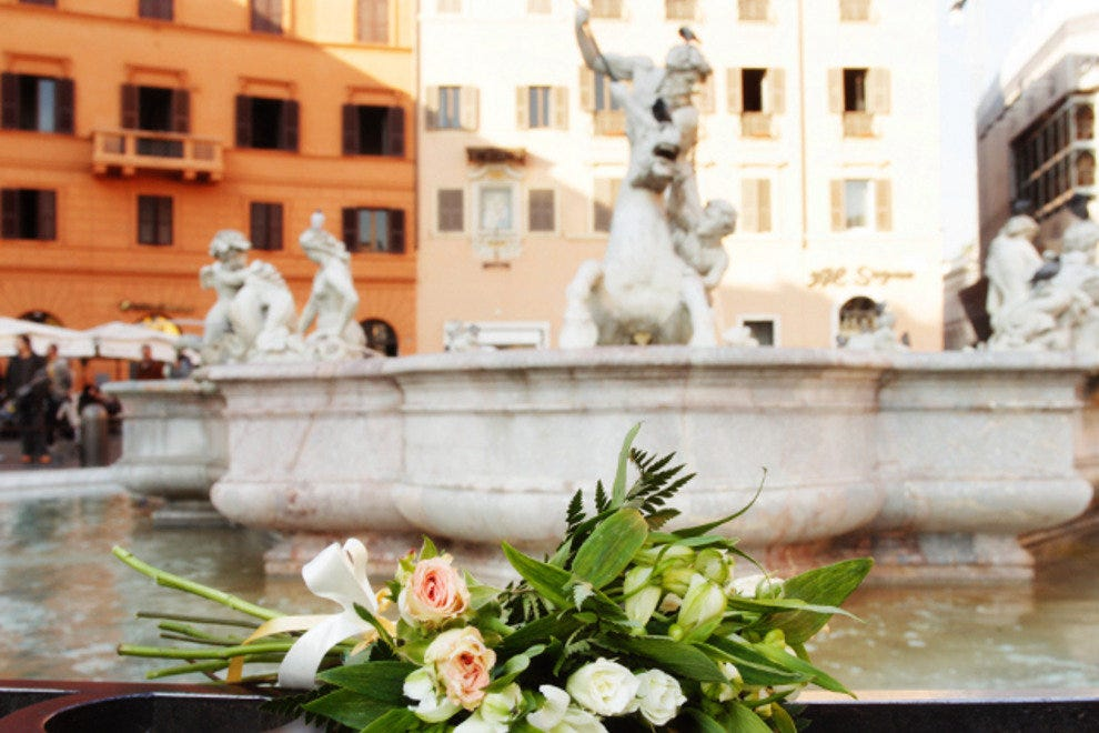 Rome's historic fountains heighten the city's romance