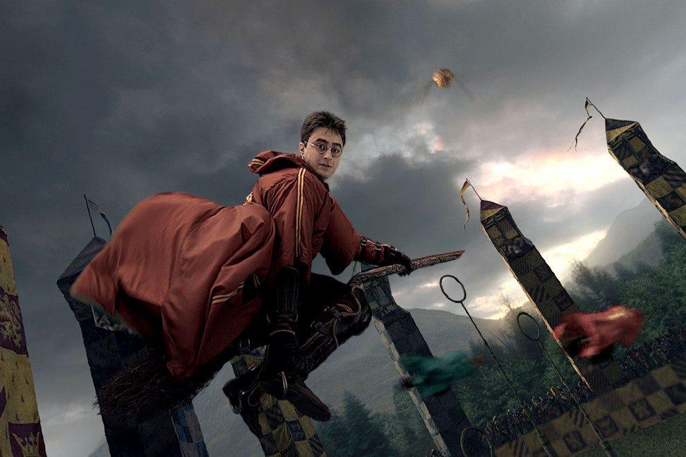 扫帚上的混乱:哈利波特与禁地之旅