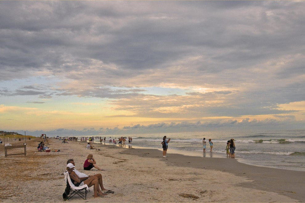 Coligny Beach is one of Hilton Head's most popular public beaches.