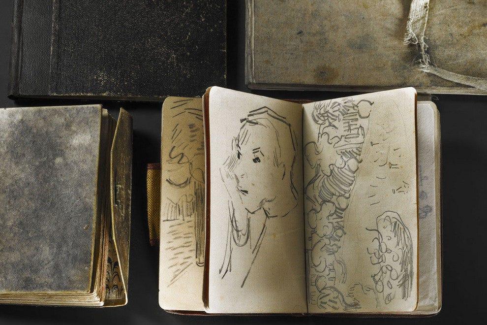 文森特·梵高的素描本