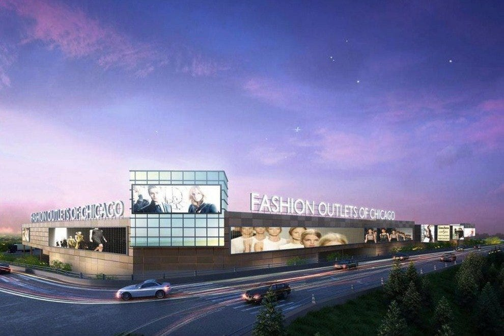 Fashion Outlets of Chicago offers a rare shopping experience in Chicagoland