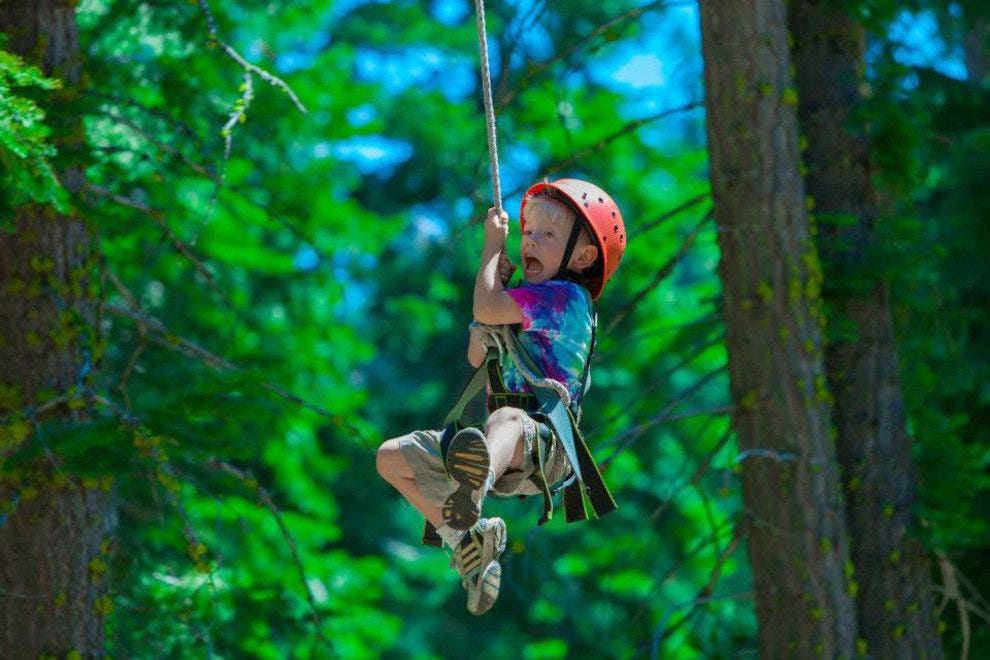 Tahoe Treetop Adventure Park Zip Lining For The Whole Family