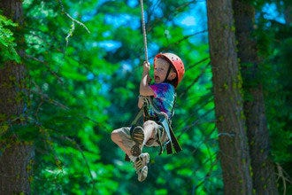Tahoe Treetop Adventure Park: Zip Lining for the Whole Family